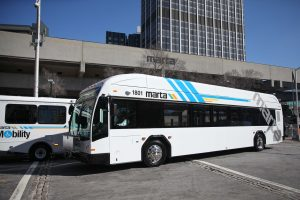 MARTA Bus in Atlanta