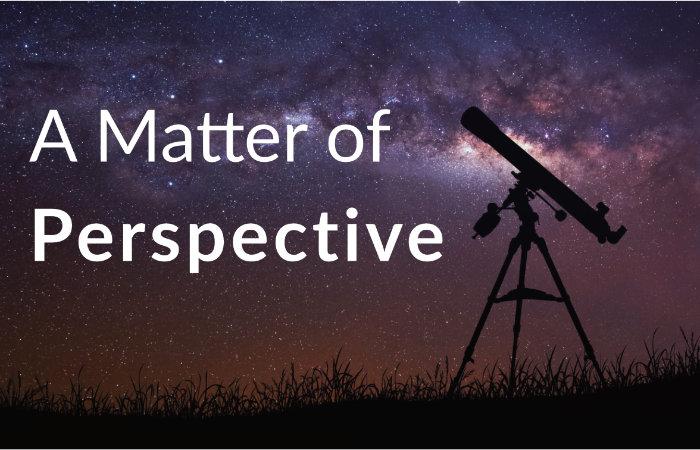 a matter of perespective